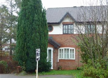 Thumbnail 2 bed semi-detached house to rent in Llwyn Onn, Tylagarw, Pontyclun