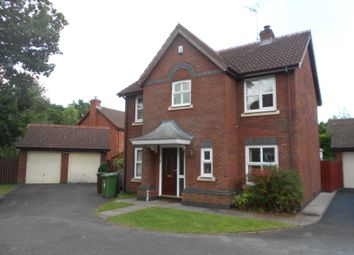 Thumbnail 4 bed detached house to rent in Rushbury Close, Solihull