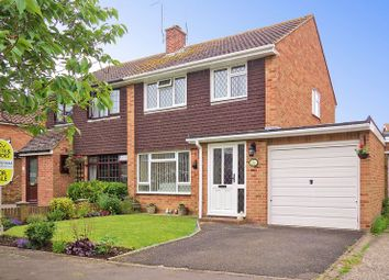 Thumbnail 3 bed semi-detached house for sale in Westmorland Drive, Felpham