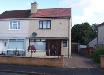 Thumbnail 2 bed semi-detached house for sale in Duncryne Place, Glasgow