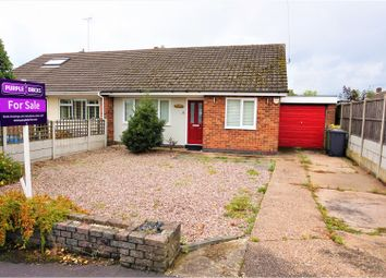 Thumbnail 2 bed semi-detached bungalow for sale in Parkers Close, Blackfordby, Swadlincote