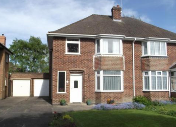 Thumbnail 3 bed semi-detached house for sale in Fabian Crescent, Solihull, West Midlands