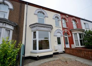 Thumbnail 3 bed terraced house to rent in Welholme Road, Grimsby