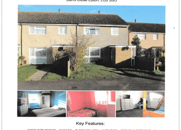 Thumbnail 3 bedroom end terrace house for sale in Burnt Close, Luton