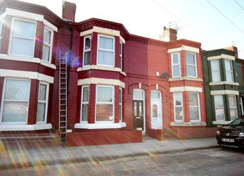 Thumbnail 3 bed terraced house to rent in Snaefell Avenue, Tuebrook, Liverpool