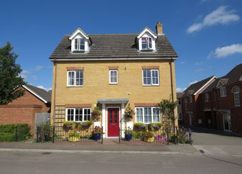 Thumbnail 5 bed detached house for sale in Richard Easten Road, Thetford