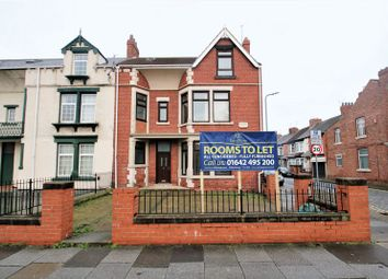 Thumbnail 8 bedroom terraced house for sale in Southfield Road, Middlesbrough