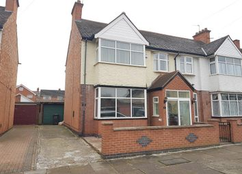 Thumbnail 5 bed semi-detached house for sale in Horston Road, Evington, Leicester
