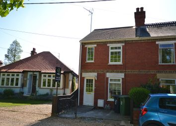 Thumbnail 2 bedroom semi-detached house for sale in Brook Road, Dersingham, King's Lynn