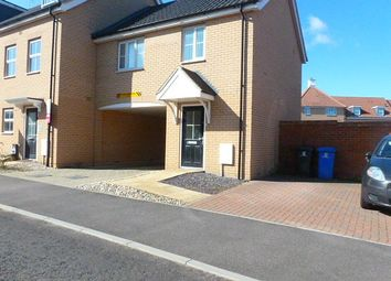 Thumbnail 1 bed end terrace house to rent in Buttermere Way, Carlton Colville, Lowestoft