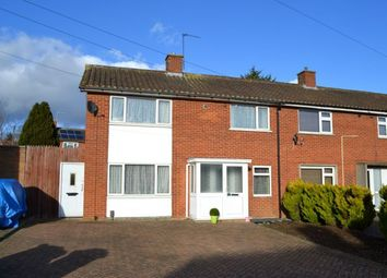 Thumbnail 3 bed end terrace house for sale in Bourne Crescent, Kings Heath, Northampton