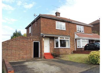 Thumbnail 2 bed semi-detached house for sale in Anchor Road, Rochester