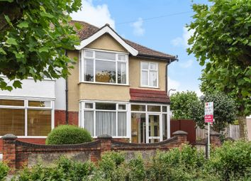 Thumbnail 3 bed semi-detached house for sale in Taunton Avenue, West Wimbledon, London