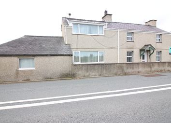 Thumbnail 5 bed detached house for sale in Dolydd, Caernarfon
