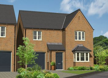 Thumbnail 4 bedroom detached house for sale in Plot 10, The Hainford, Repton Road, Willington, Derbyshire