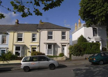 Thumbnail 4 bed terraced house to rent in Trelawney Road, Falmouth