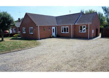 Thumbnail 3 bed detached bungalow for sale in Main Road, Holbeach Drove, Near Spalding