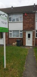 Thumbnail 2 bed terraced house to rent in Jeremy Close, Leicester, Leicestershire