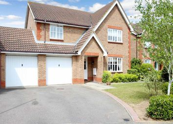 Thumbnail 4 bedroom detached house for sale in Howlett Close, Grange Farm, Kesgrave, Ipswich