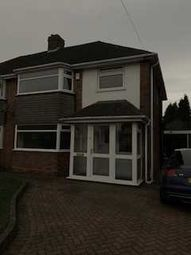 Thumbnail 3 bed semi-detached house to rent in Romney Way, Great Barr, Birmingham