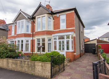 Thumbnail 3 bedroom semi-detached house for sale in Pen Y Groes Avenue, Rhiwbina, Cardiff