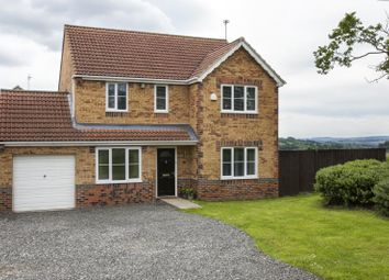 Thumbnail 4 bedroom detached house for sale in Chaucer Drive, Crook, County Durham