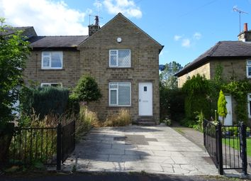 Thumbnail 2 bed semi-detached house to rent in Hepworth Crescent, Hepworth, Holmfirth