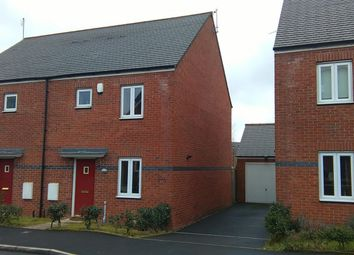 Thumbnail 3 bedroom semi-detached house to rent in Rosefinch Road, West Timperley, Altrincham