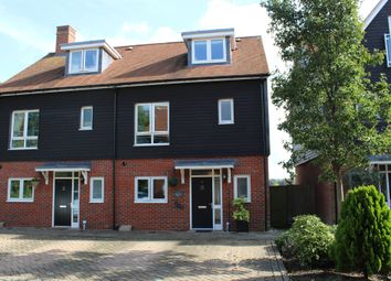 Thumbnail 4 bed semi-detached house for sale in Schuster Close, Cholsey, Wallingford