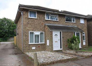 Thumbnail 2 bed semi-detached house to rent in Favell Drive, Furzton, Milton Keynes, Buckinghamshire
