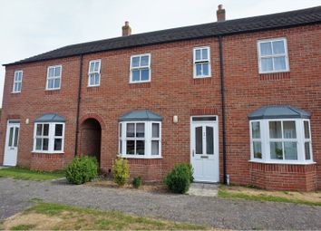 Thumbnail 2 bed terraced house for sale in Ackrill Close, Coningsby, Lincoln