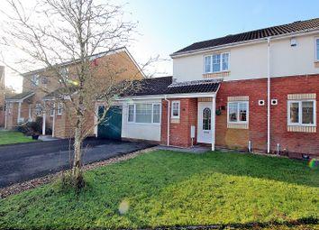Thumbnail 2 bed semi-detached house for sale in Dol Y Llan, Miskin, Pontyclun, Rhondda, Cynon, Taff.