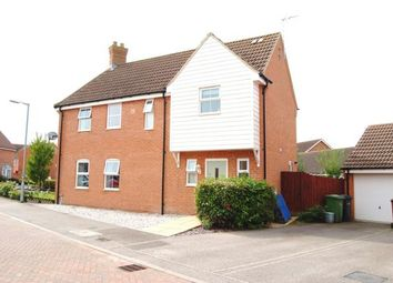 Thumbnail 3 bed semi-detached house for sale in Watlington, King's Lynn, Norfolk