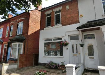Thumbnail 2 bedroom end terrace house for sale in Flora Road, Yardley, Birmingham