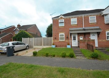 Thumbnail 2 bed semi-detached house for sale in Peckleton Green, Barwell, Leicestershire