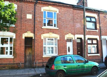 Thumbnail 3 bedroom terraced house for sale in Twycross Street, Leicester