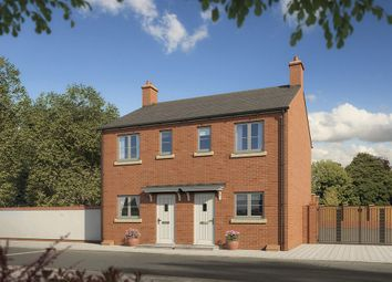 "Thumbnail 2 bed semi-detached house for sale in ""The Cleddau"" at Darcy Business Park, Llandarcy, Neath"