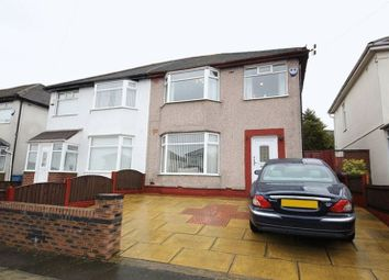 Thumbnail 3 bed semi-detached house for sale in Rudston Road, Childwall, Liverpool