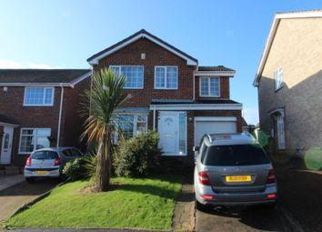 Thumbnail 4 bed detached house for sale in Gorton Close, Billingham