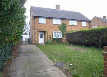 Thumbnail 3 bedroom semi-detached house for sale in Ashcroft Road, Luton, Bedfordshire