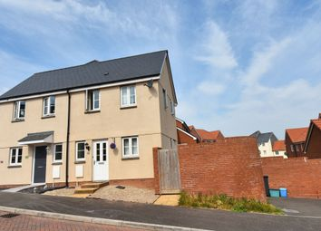 Thumbnail 1 bedroom end terrace house for sale in Post Coach Way, Cranbrook, Exeter