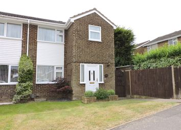 Thumbnail 3 bedroom semi-detached house for sale in Brill Close, Luton