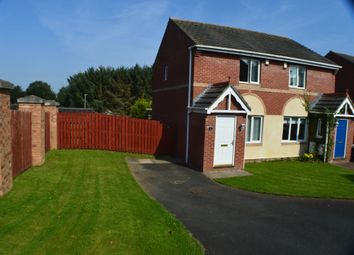 Thumbnail 2 bedroom semi-detached house for sale in Spetchells, Prudhoe
