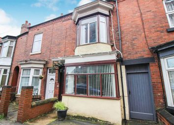 Thumbnail 3 bed terraced house for sale in Ashbourne Road, Leek, Staffordshire