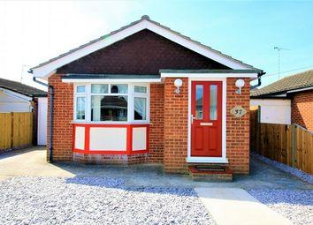 Thumbnail 1 bed detached bungalow for sale in Letzen Road, Canvey Island, Essex