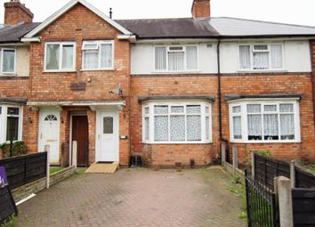 Thumbnail 3 bed terraced house to rent in Finchley Road, Kingstanding, Birmingham