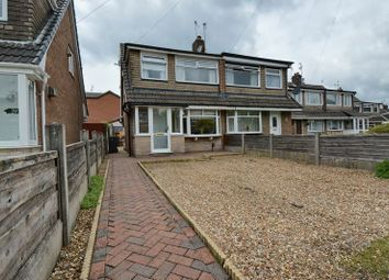 Thumbnail 3 bed semi-detached house for sale in Nuttall Avenue, Whitefield, Manchester