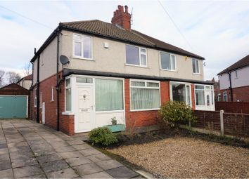 Thumbnail 3 bed semi-detached house for sale in Talbot Crescent, Leeds