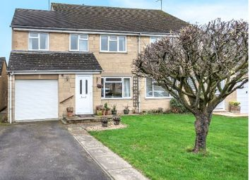 Thumbnail 4 bed semi-detached house for sale in Alexander Drive, Cirencester