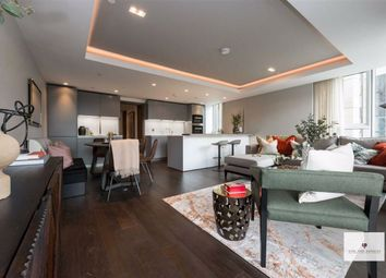 Thumbnail 4 bedroom flat for sale in North Wharf Road, London